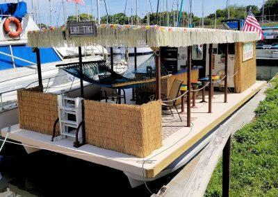 Tiki Cruises Pontoon Boat Liki Tiki
