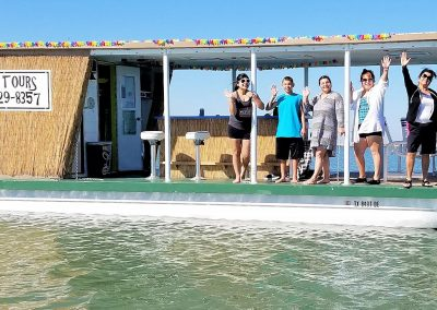 Tour Group Enjoying A Liki Tiki Cruise