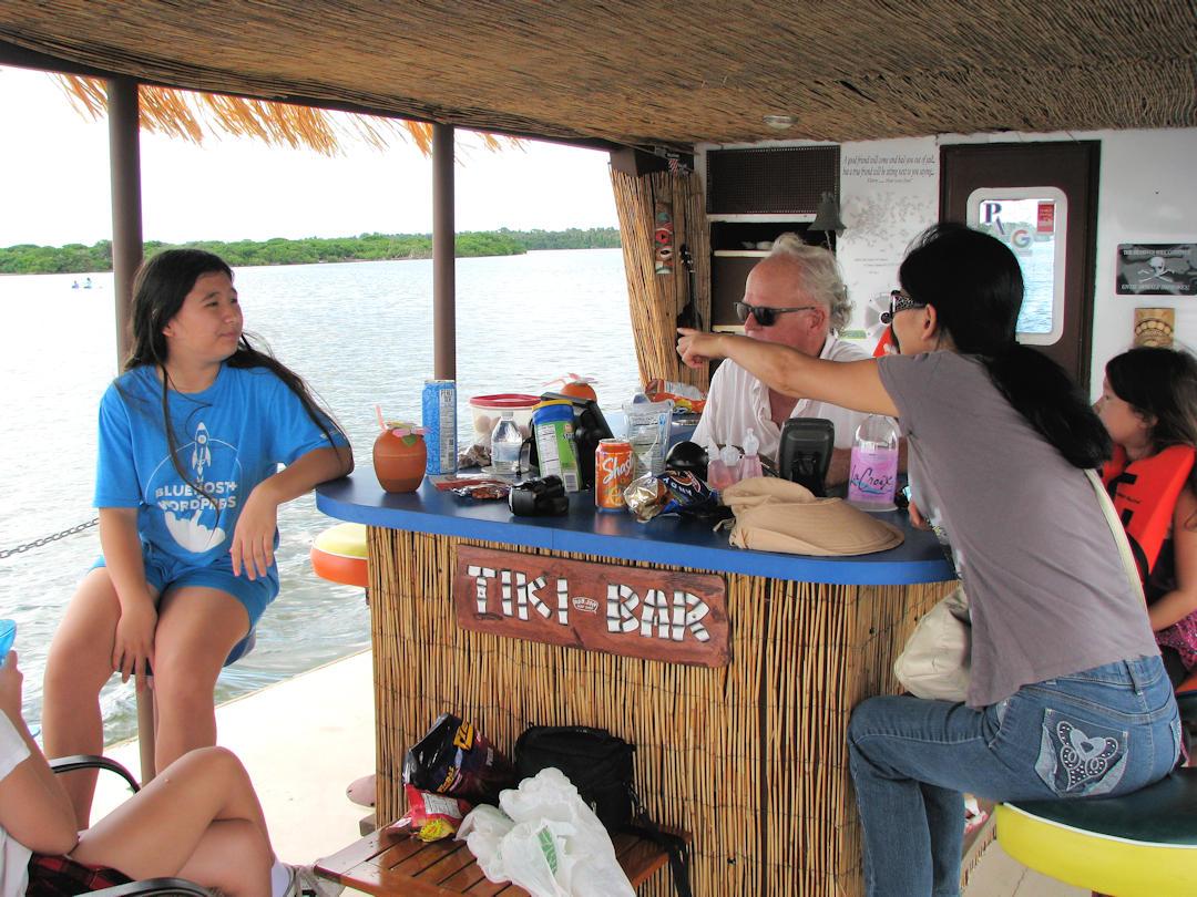 Family Enjoying Private One Day Florida Cruise Tour